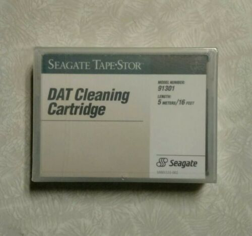 Seagate 4mm DAT Cleaning Cartridge 1-pk NEW SEALED !!