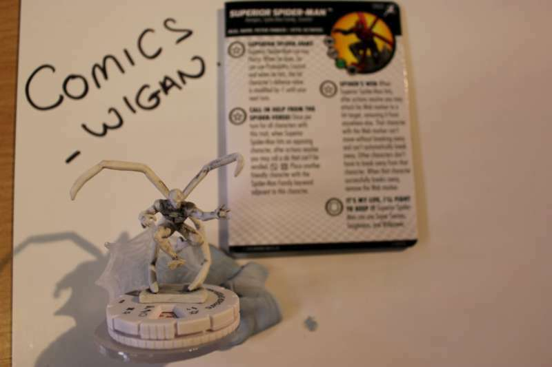 Marvel Heroclix Superior Foes of Spider-Man SUPERIOR SPIDER-MAN 060 SKETCH SUPER