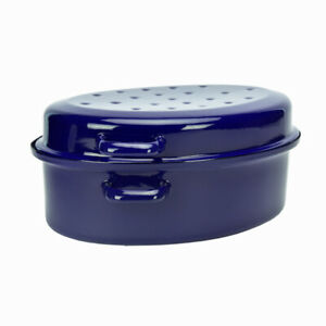 Cocotte-Ovale-en-Acier-emaillee-Avec-Couvercle-38cm-Bleu-7-5L