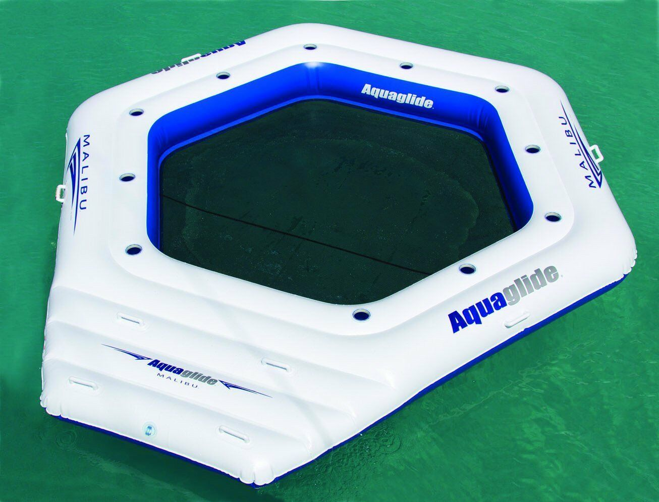 NEW Aquaglide Malibu Island Waterskiing Towables with Multiple Cup Holders