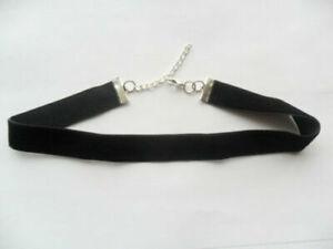 Black-velvet-choker-necklace-1-6-cm-x-size-28-33-cm-to-plus-size-51-55-cm