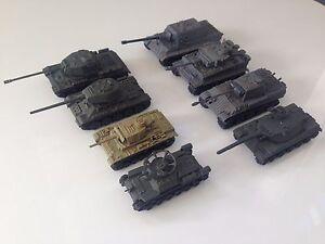 Tank-model-1-144-World-War-II-tank-X8-4D-Model-Kit-Spray-finish