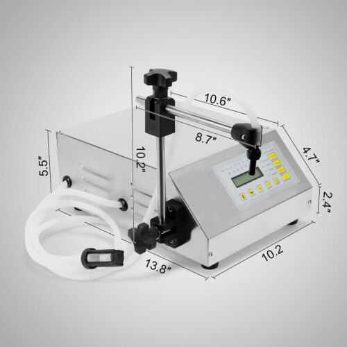 Flüssige Füllmaschine Digital Control GFK-160 Edelstahl Hitze schützen GREAT