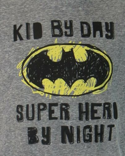 Batman Toddler Boys T-Shirt New Gray Officially Licensed Jumping Beans