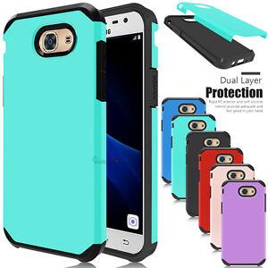 buy online dfe42 66d9d For Samsung Galaxy J3 Emerge/Prime/Luna Pro Case Hybrid Shockproof ...