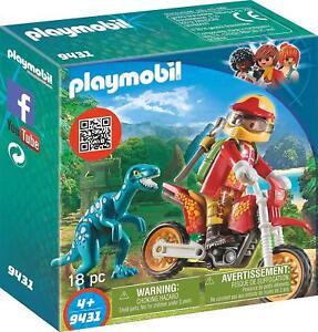 9431 Raptor Avec Moto Playmobil JouetsEbay Ensemble D2eH9YEWI