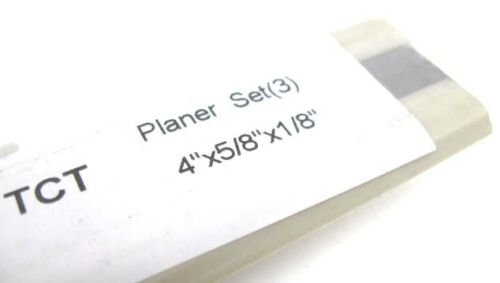 4 x5//8 x1//8  CARBIDE TIPPED PLANER KNIVES Atlas Boice Crane Jet JJ-4 Craftsman