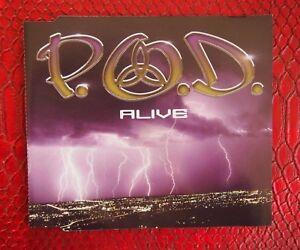 2x CDs - P.O.D., Testify & Alive (CD Single) - Atlantic