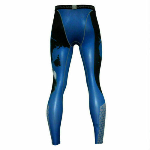 Mens Thermal Compression Tight Base Layer Pants Long Leggings Gym Sport Trousers