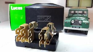 s l300 land rover series 1 2 2a genuine oem lucas fuse fusebox & cover Land Rover Series IIA 109 at alyssarenee.co
