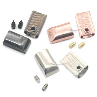End Tips Handbag Luggage Buckle Sewing Zipper Pull Tap Purse Repair craft DIY US