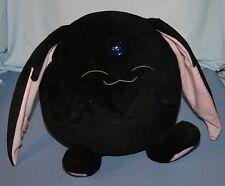 "Large Plush Sega Magic Knight Rayearth Black Mokona Clamp 9"" Diameter Toy 2007"