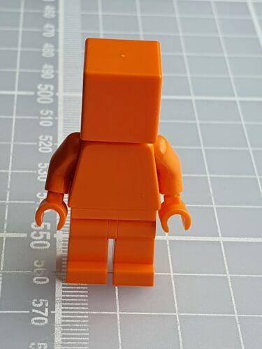 LEGO Square//Cube Head Plain Figures Monochrome Monofigs Minifigures NEW