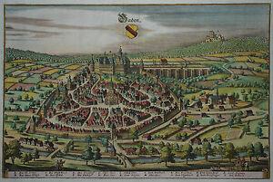 Baden-Baden-Merian-Originale-Stadtansicht-von-1643
