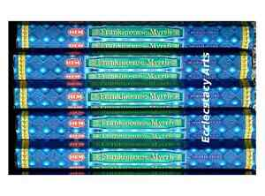 Hem-Frankincense-Myrhh-Incense-20-40-60-80-100-120-Sticks-You-Pick-Amount
