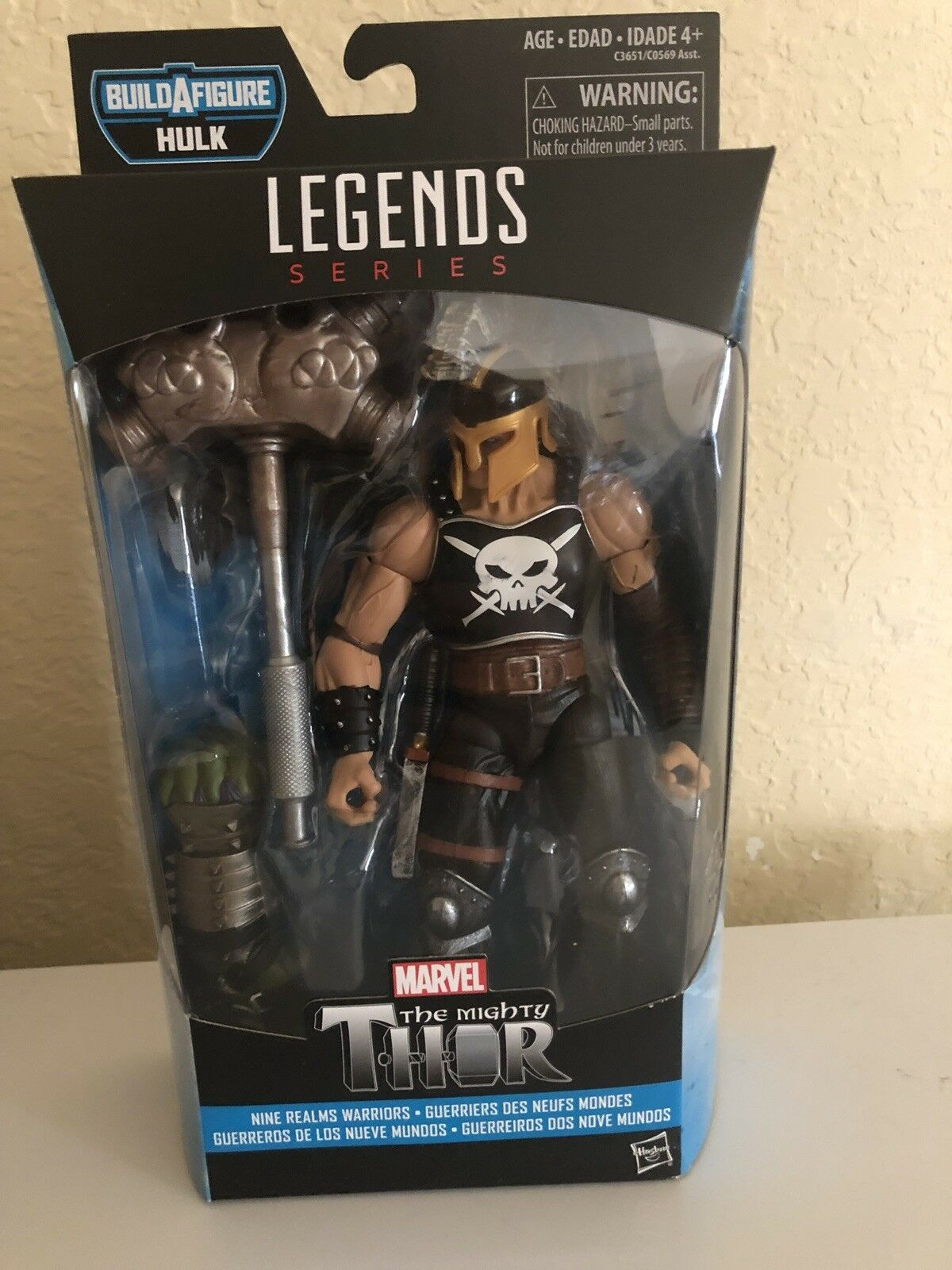 Marvel Legends Marvels Ares Figure The Mighty Thor Hulk BAF Series