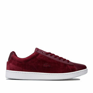 lacoste leather trainers womens