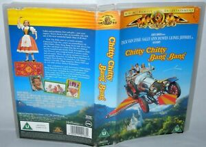 Chitty-Chitty-Bang-Bang-Vhs-Tape-amp-Case-Cert-U-MGM-Collectable-VHS
