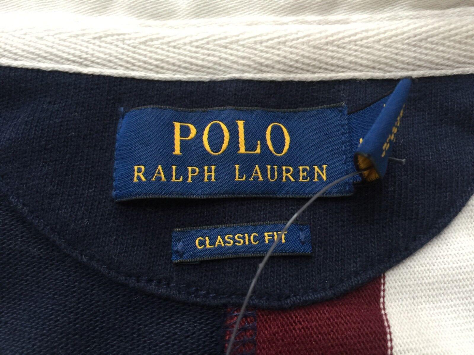 POLO POLO POLO Ralph Lauren Rugby Shirt Classic Fit Taglia M L Al Dettaglio  BNWT 6550f9