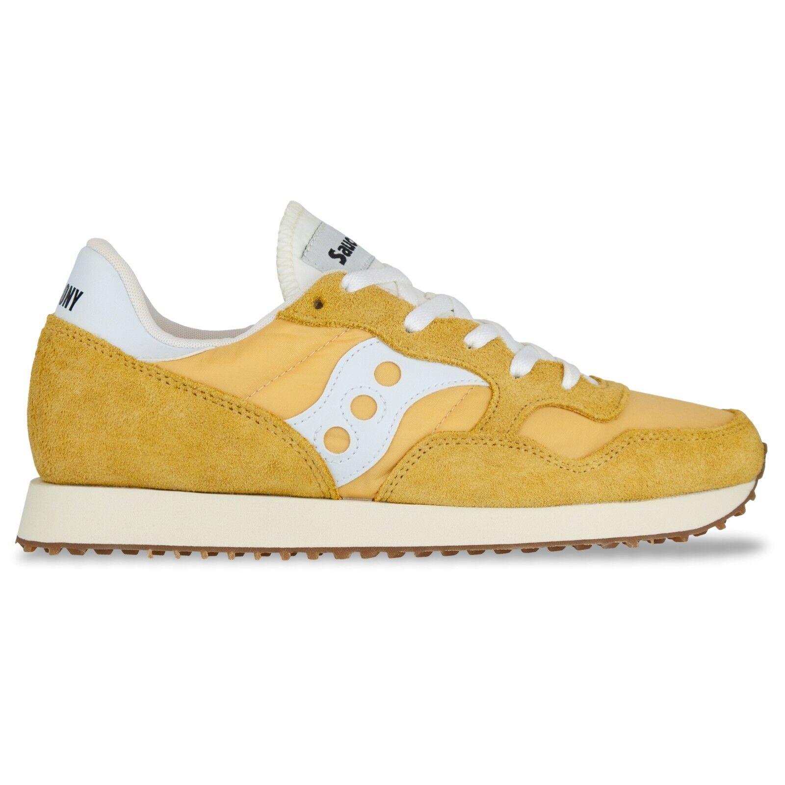 Saucony Originals - Saucony DXN Vintage Weiß, Trainers - Yellow, Pink, Weiß, Vintage Aqua 5d8a53
