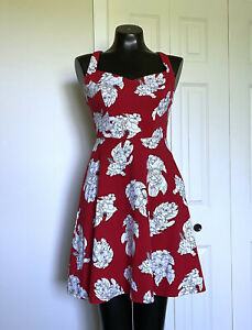 Small-DISNEY-Stitch-Retro-Pin-up-Fit-amp-Flare-Dress