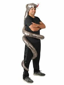 Slither Snake ADULT Costume One Size NEW