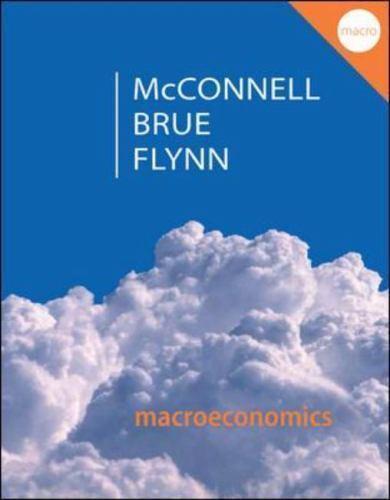 Macroeconomics: Principles, Problems, & Policies, Flynn, Sean, Brue, Stanley