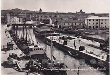 ANCONA SENIGALLIA 28 PORTO CANALE - BARCHE Cartolina FOTOGRAFICA