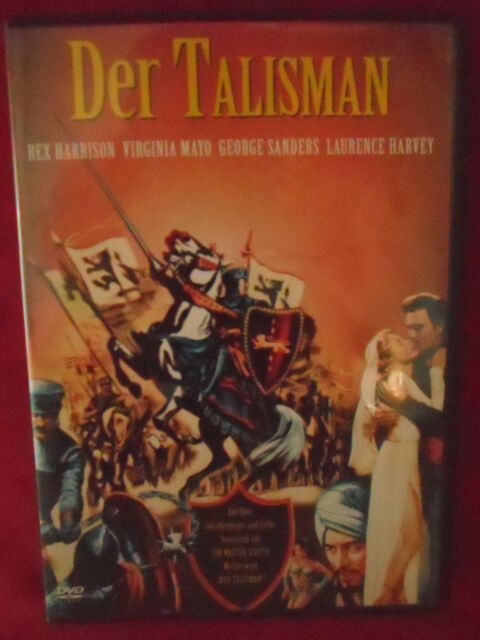 "Rex Harrison,George Sanders,Virginia Mayo in ""DER TALISMAN"""
