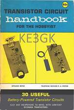 Transistor Circuit Handbook for the Hobbyist * 1960 *  CDROM * PDF