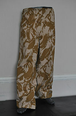 NEW British Army Desert Gore-tex waterproof trousers