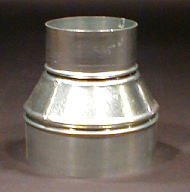 """6"""" x 4"""" Sheet Metal Taper Reducer Dust Collectors Duct"""