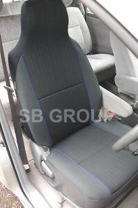 RENAULT-Twingo-Modus-siege-voiture-Couvre-yaro-Bleu-Fleck-2-fronts