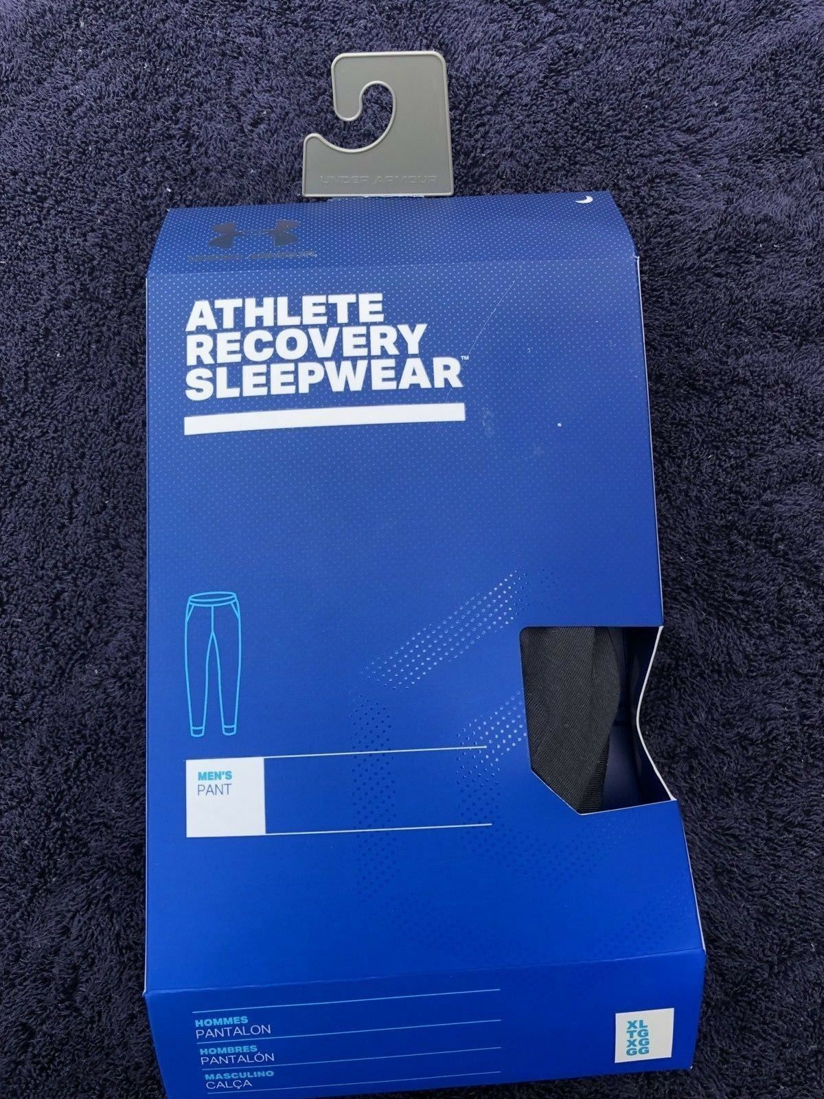 bf49a378a8 Under Armour Athlete Recovery Sleepwear Joggers Pants 1321679 Black M for  sale online