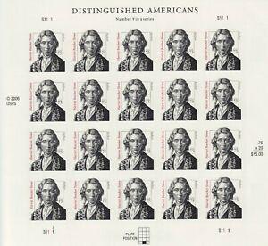 Harriet-Beecher-Stowe-Sheet-of-Twenty-75-Cent-Postage-Stamps-Scott-3430