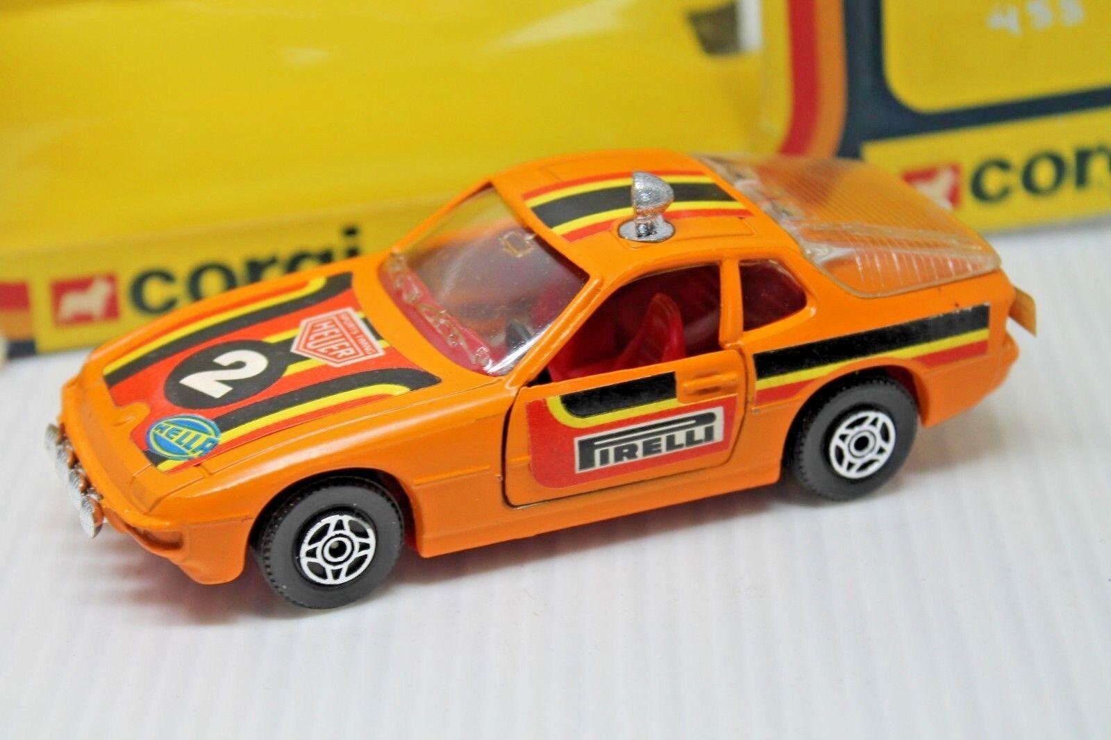 Corgi toys 303  porsche 924    1 36  embalaje original  1979  Rally (2) c69a5f