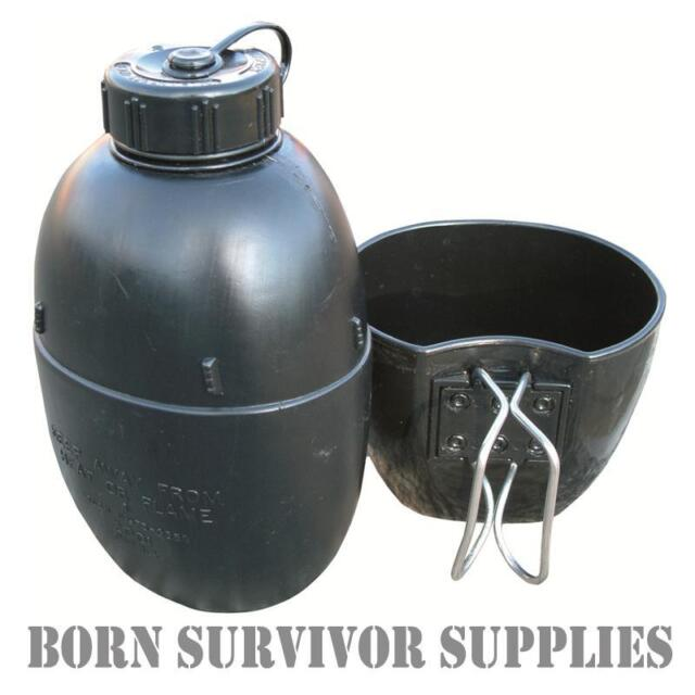 58 Pattern Style Waterbottle and Mug Set Army Military Survival Camping