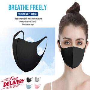 Face Mask - 3D Mesh Design - 4 Colours - Washable - Reusable - Unisex- FAST POST