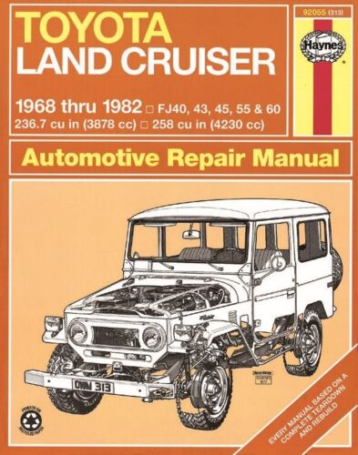 Repair Manual-Base Haynes 92055 fits 1968 Toyota Land Cruiser