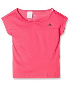 Adidas Filles T-shirt-top-afficher Le Titre D'origine Emballage De Marque NomméE