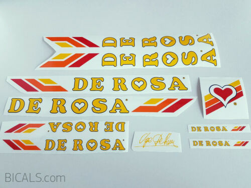 DE ROSA SAMMONTANA decal set sticker complete bicycle FREE SHIPPING