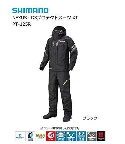 SHImanO NEXUS DS Protect Fishing Suit XT RT-125R zwart WaterBesteendig Japan EMS