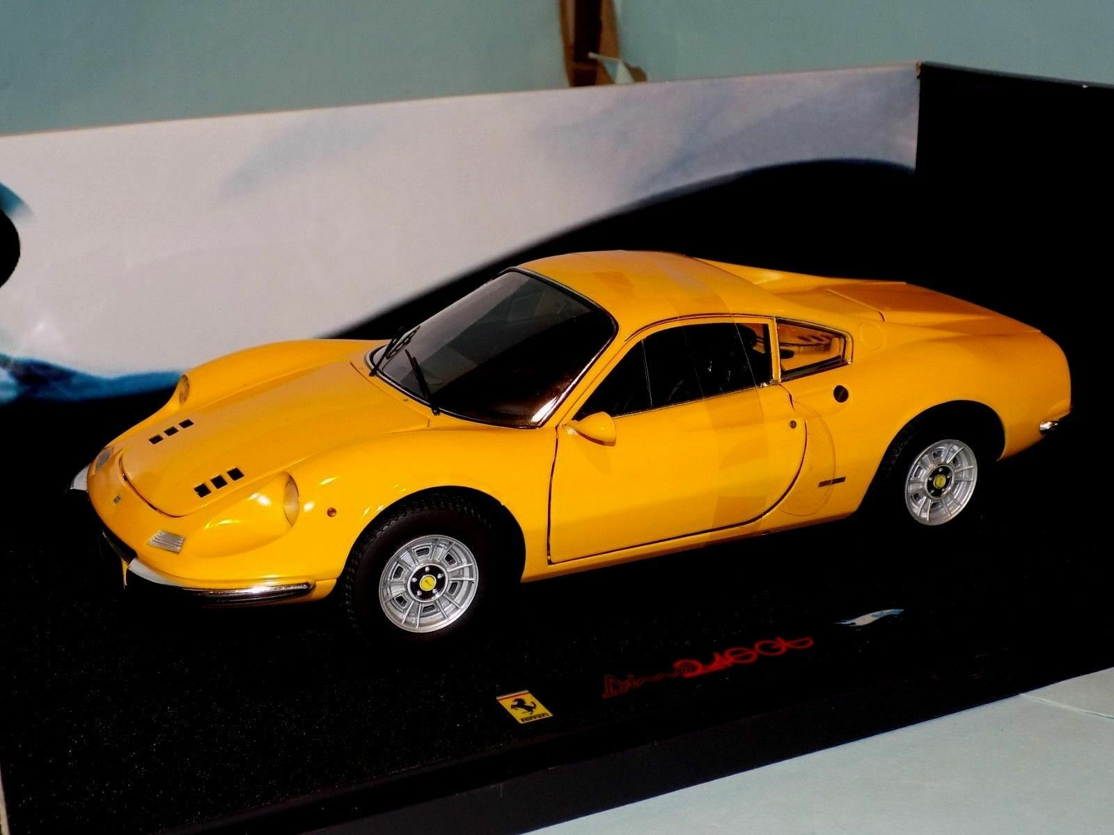 Ferrari Dino 246GT yellow Elite N2045 1 18