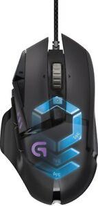 Logitech-G502-Mouse-da-Gioco-Proteus-Spectrum-Regolazione-RGB-11-Pulsanti-Pro