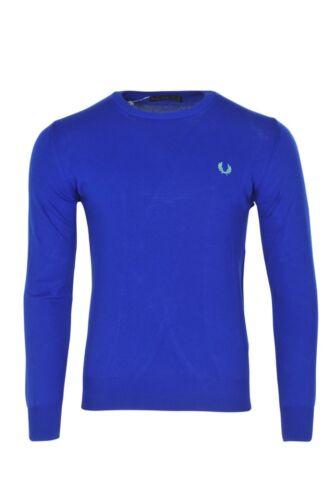 maglia Sweater Fred Xl Perry Men Blue lavorato a Cotton 8vwfz6n