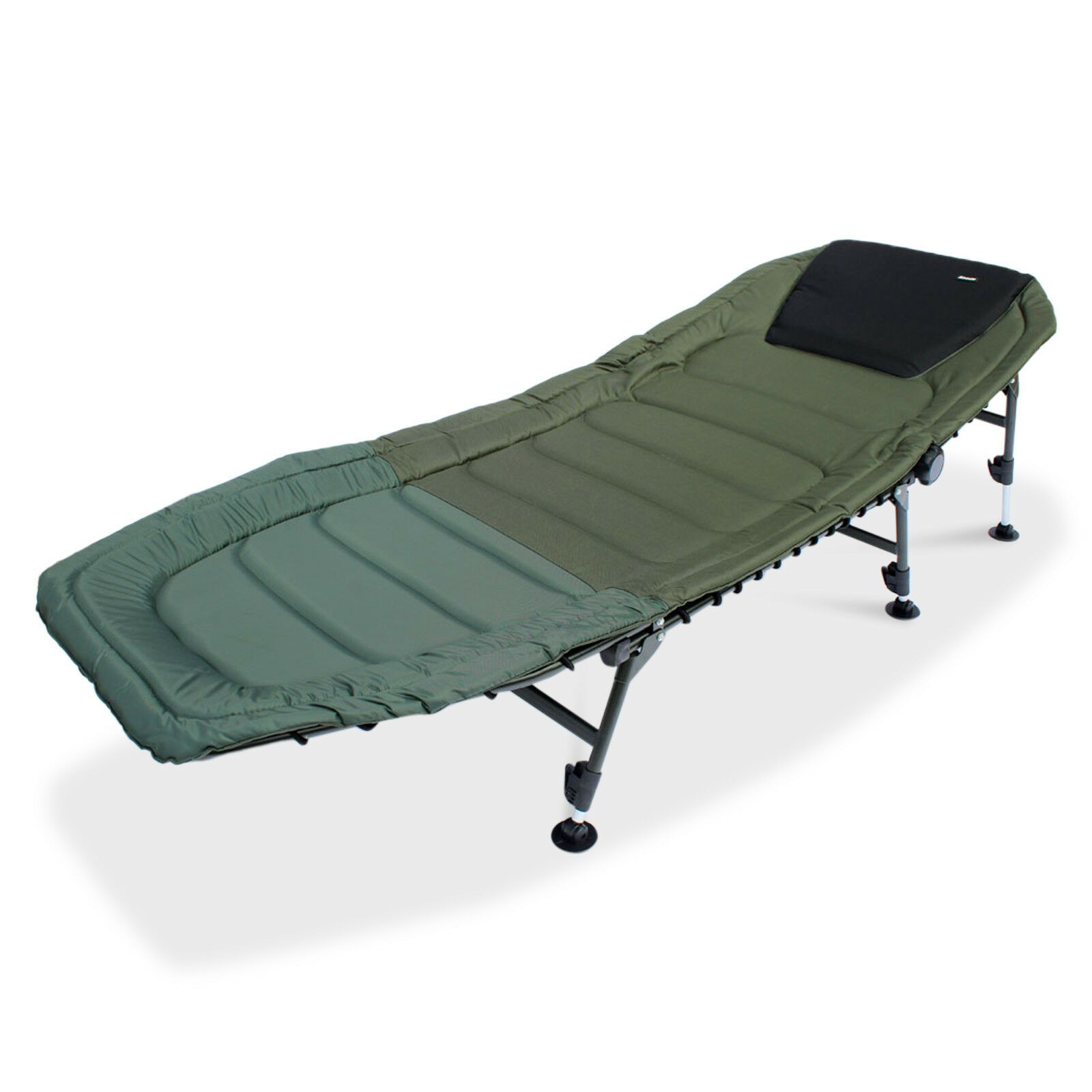 ABODE® DLX Oxford 6 Leg Super™ Carp Fishing Bed Chair Camping Bedchair