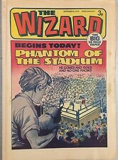 THE WIZARD weekly British comic book September 8, 1973