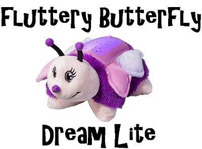 Dream Lites Pillow Pets Fluttery Butterfly Night Light As Seen On TV NEW IN BOX