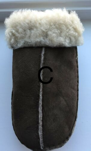 Large Childrens Sheepskin Mittens