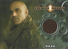 "Iron Man Movie - Faran Tahir ""Raza"" Costume Card"